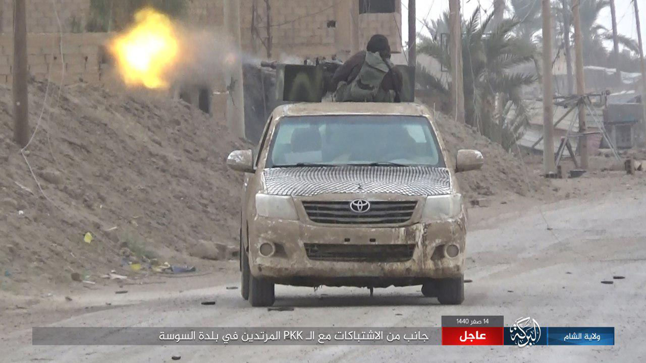 ISIS Launches Counter Attack In Euphrates Valley, Kills Many US-Backed Fighters (Photos)