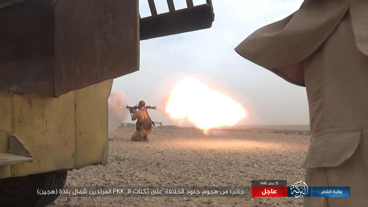 ISIS Kills And Captures Several US-Backed Fighters During Attack North Of Hajin (Photos)