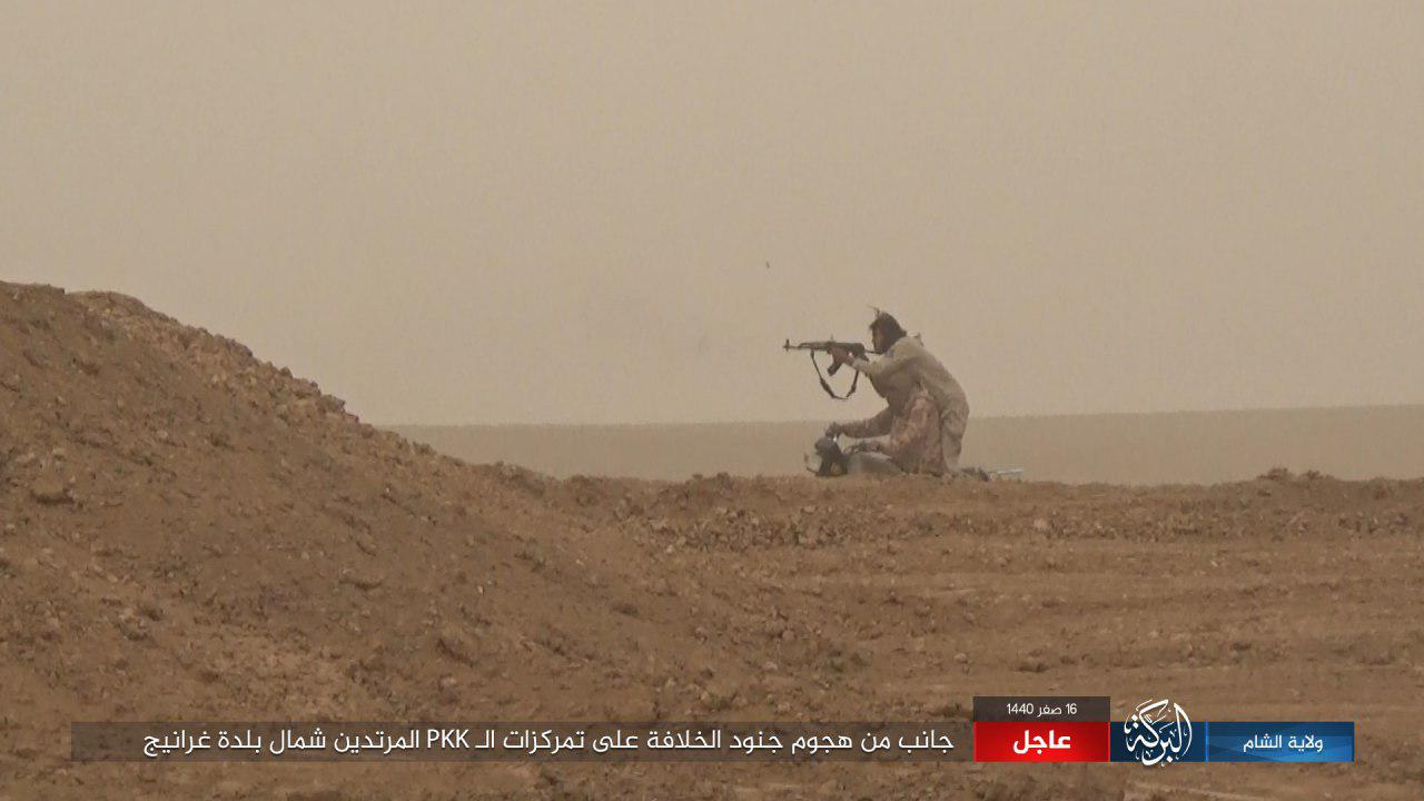 ISIS Launches Two Attacks In Euphrates Valley Under Cover Of Sand Storm (Photos)