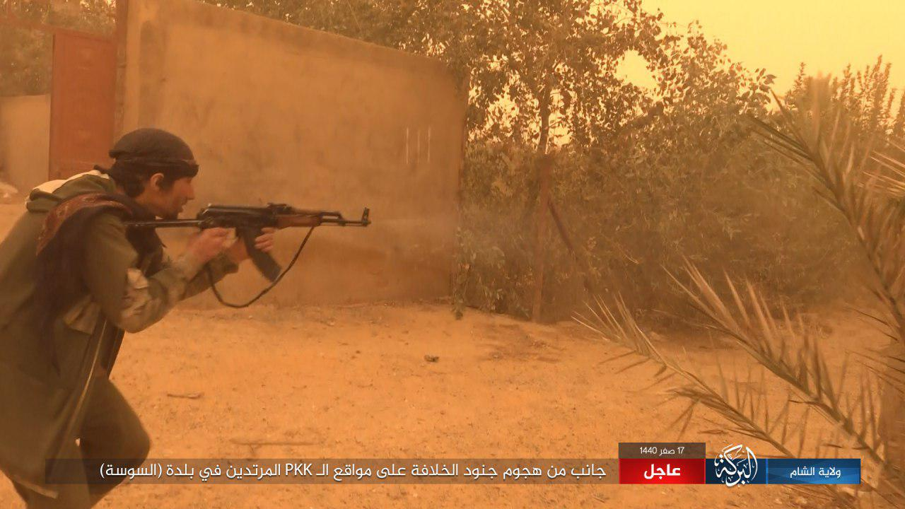 ISIS Kills More Than 40 US-Backed Fighters During Several Attacks In Euphrates Valley (Photos)