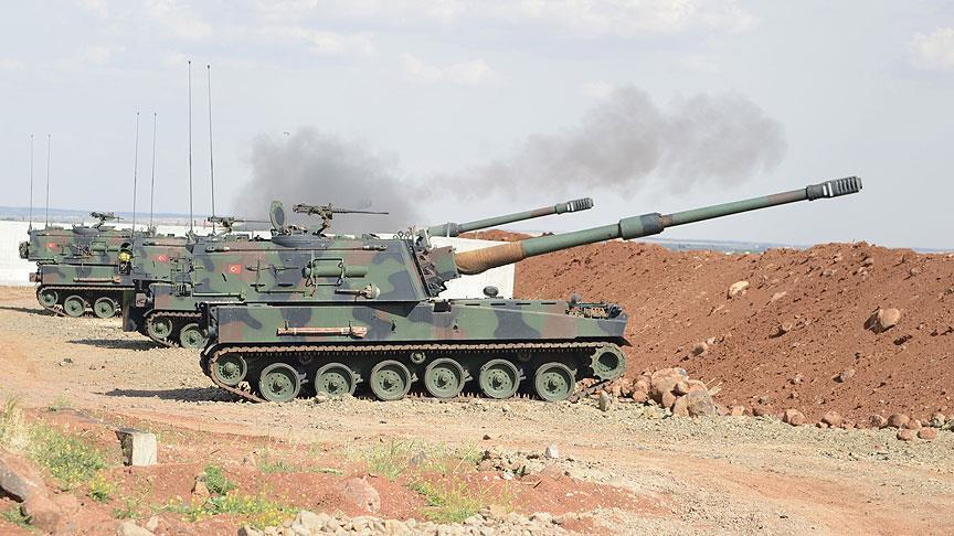 Turkish Military Shells SDF Positions In Kobani Following Erdogan Threats To Launch New Military Operation In Syria (Video)