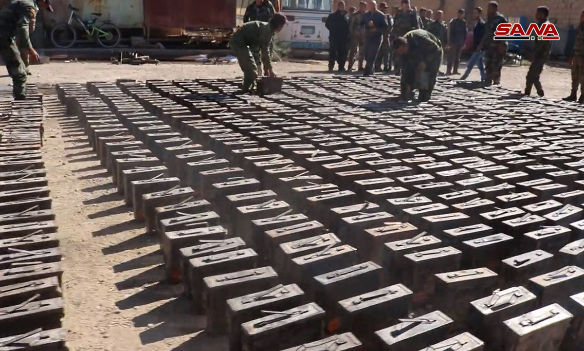 Syrian Army Uncovers Tons Of US-Supplied Ammunition In Southern Deir Ezzor (Photos)