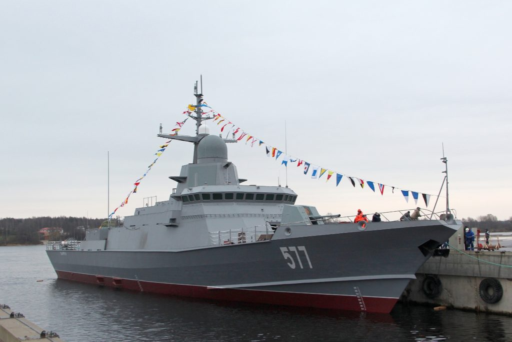 Russian Shipbuilding Struggles With Production Problems Of Karakurt-class Missile Corvettes