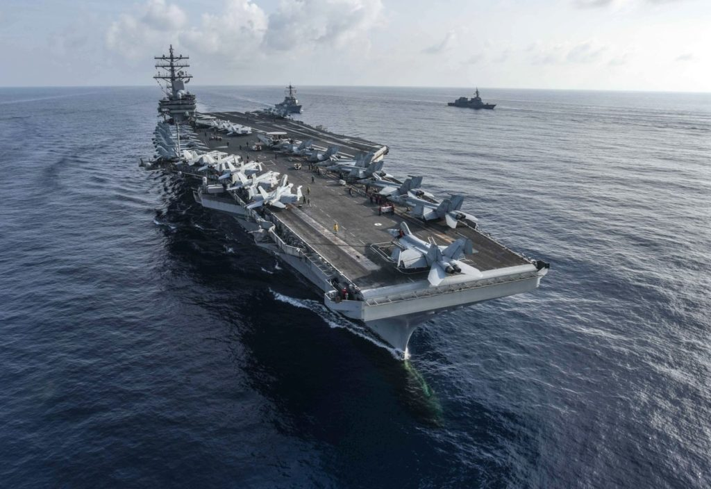 14 Sailors Working In Nuclear Department Of USS Ronald Reagan Accused In LSD Ring On Board