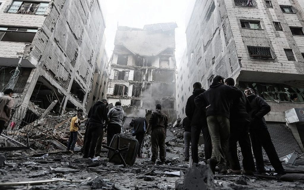Escalation In Gaza: US Declares Full Support To Israel While Egypt Works To Broker Ceasefire