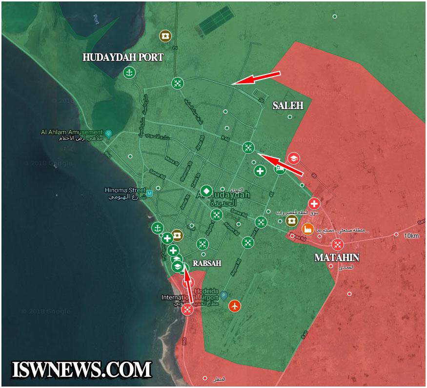 Saudi-Backed Yemeni Government Accuses Iran Of Threatening Red Sea Fishermen As Saudi Coalition Storming Key Yemeni Port