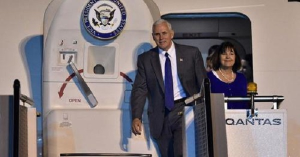 """Pence: """"All-Out Cold War"""" Coming If China Doesn't Change Course; """"We Won't Back Down"""""""