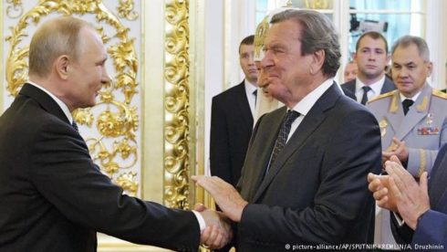German Foreign Ministry Condemns Inclusion Of Gerhard Schröder Into List Of Ukraine's 'Enemies Of State'
