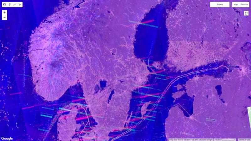 Pesquisador descobre como identificar as posições das baterias patrióticas MIM-104 usando imagens multirr Temporais Sentinel-1 SAR
