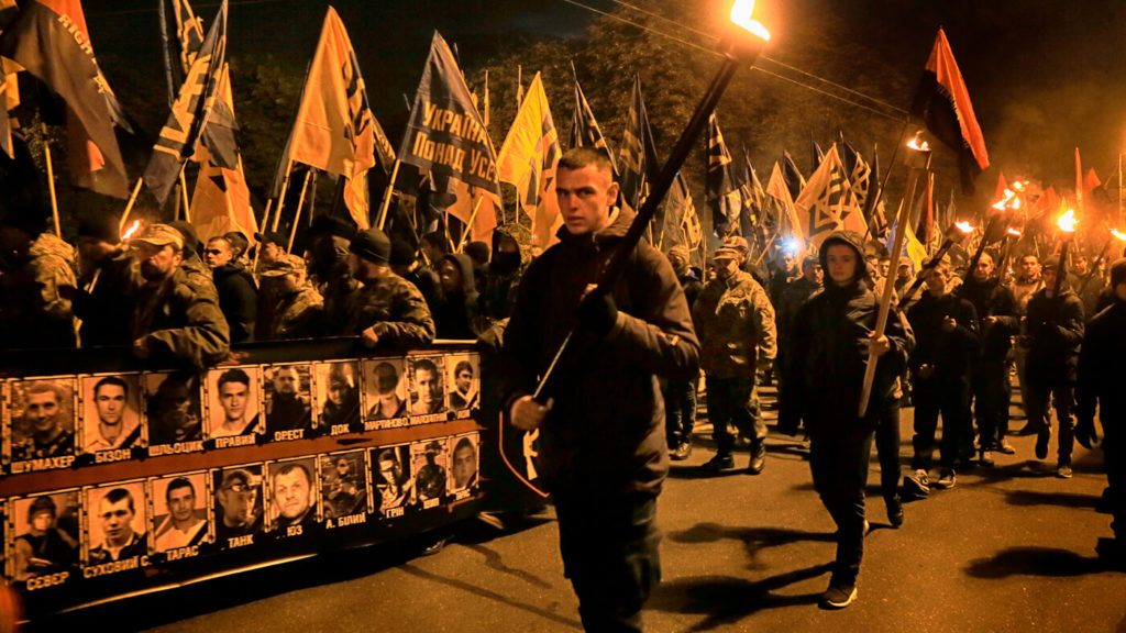 An Inside Look at How US-Funded Fascists in Ukraine Mentor US White Supremacists