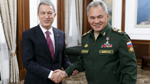 Turkish, Russian Defense Chiefs Discuss Situation In Syria's Idlib