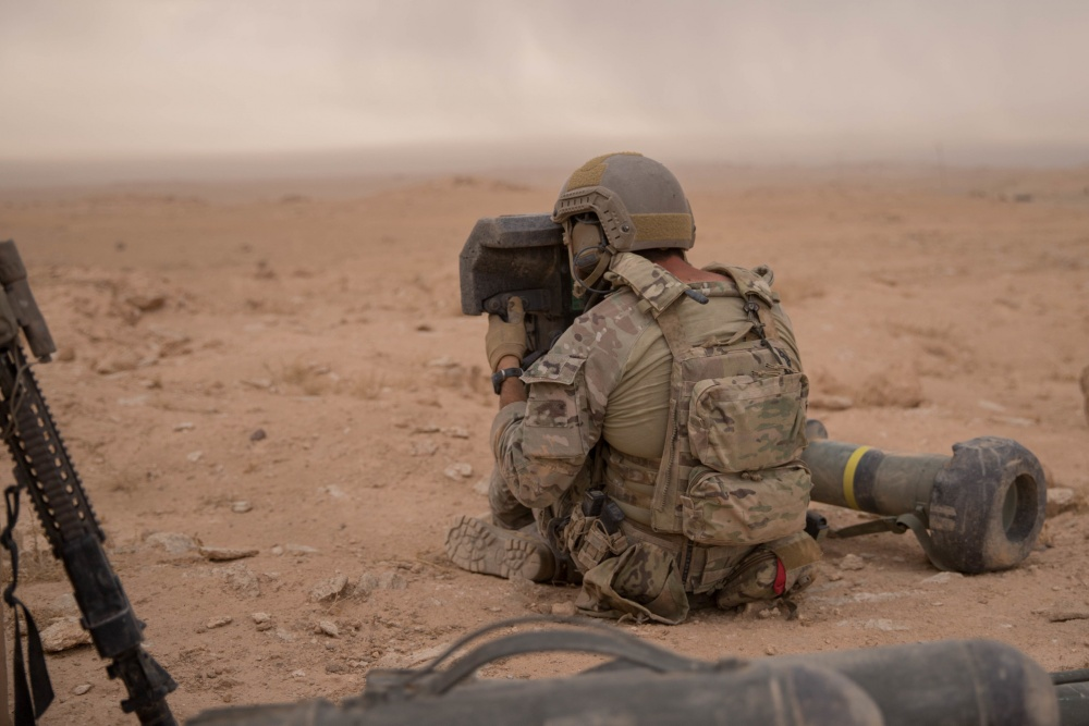 In Photos: U.S. Special Forces Support SDF Units Clashing With ISIS In Syria's Deir Ezzor Province