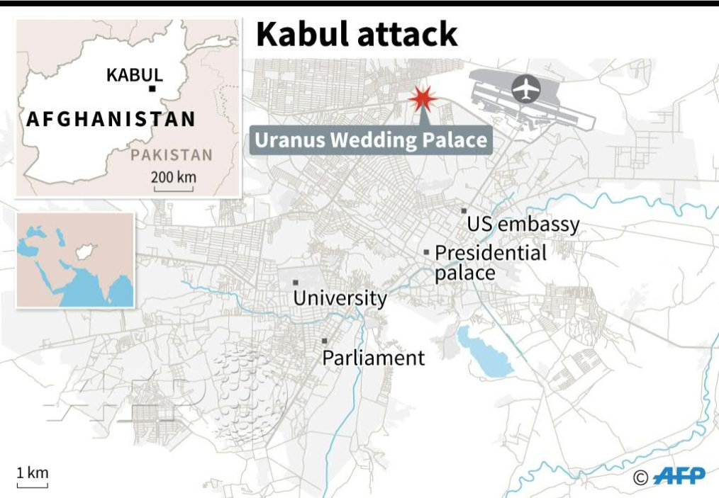 Suicide Attack Kills At Least 50 People In Afghanistan's Kabul