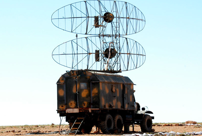 Two Russian Radars Spotted At Key Eastern Syria Airport