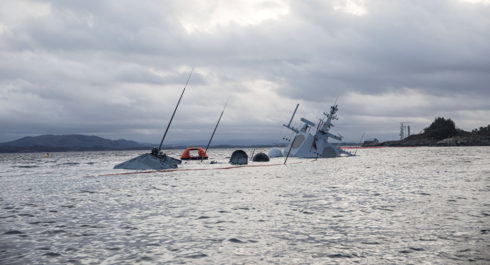 US Officer Appears To Be Involved In Norway's Frigate Collision
