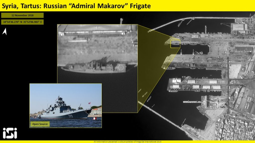 Israeli Firm Releases Satellite Images Of Russian Naval Facility In Syria's Tartus
