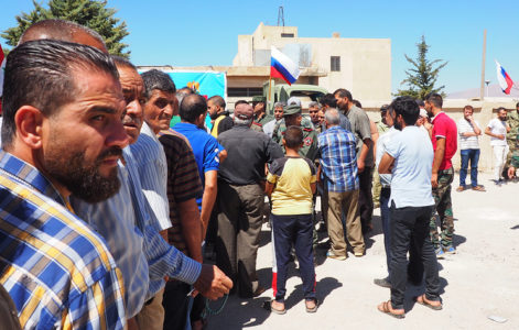 Russian Military Deliver 3 Tonnes Of Food To Residents Of Syria's Daraa, Aleppo Regions