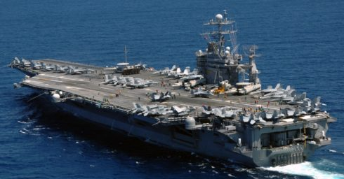 US Carrier Strike Group Started Drills In Mediterranean Hours Amid Chemical Attack On Syria's Aleppo