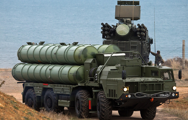 Russia Deploys Division Set Of S-400 Air Defense System In Crimea