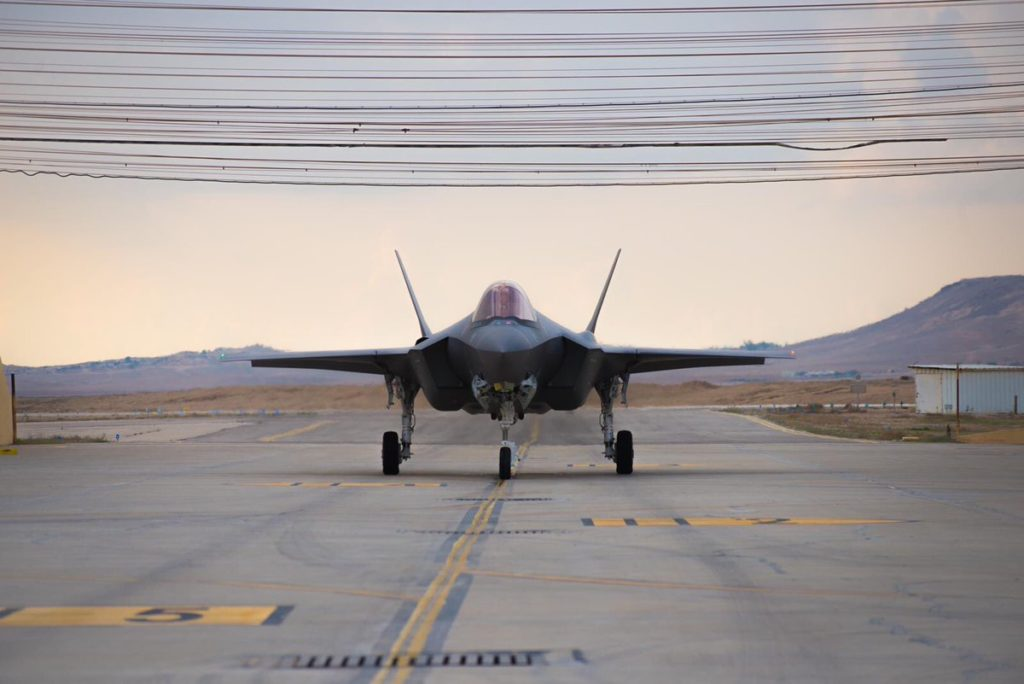 Israeli Air Force Received 2 More F-35I Fighter Jets