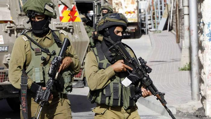 Israeli Security Forces Raid Palestinian Authority Offices In West Bank