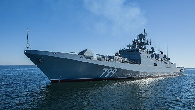 Frigate Admiral Makarov To Join Russian Naval Group In Eastern Mediterranean