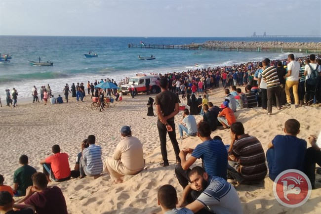 Israeli Forces Injured Over 20 Palestinians Protesting Against Israeli Maritime Blockade On Gaza