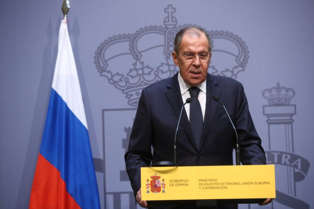Foreign Minister Sergey Lavrov's interview with Spanish newspaper El Pais
