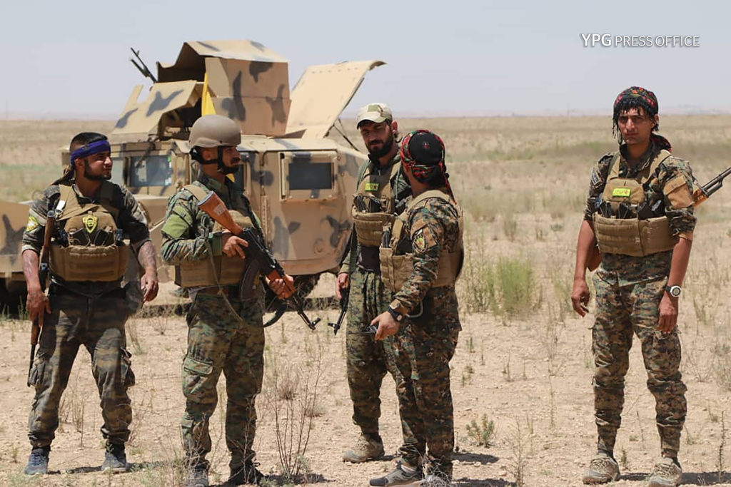 YPG Reveals Details Of Its Operations In October, Claims It Carried Out 19 Attacks In Afrin