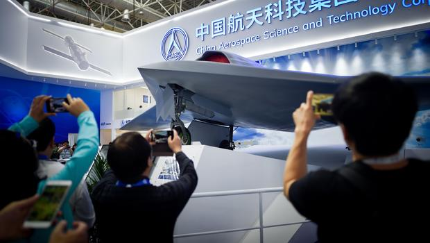 China Unveils Its CH-7 Stealth Combat Drone