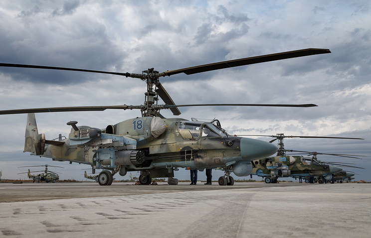 Russia's Combat Helicopters To Be Improved After Syria Operation Experience