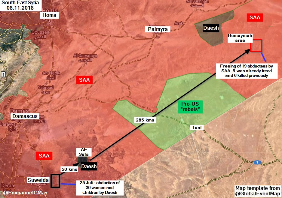 US-held Area Of At-Tanf Once Again Appears To Be 'ISIS-Welcome' Zone In Syria