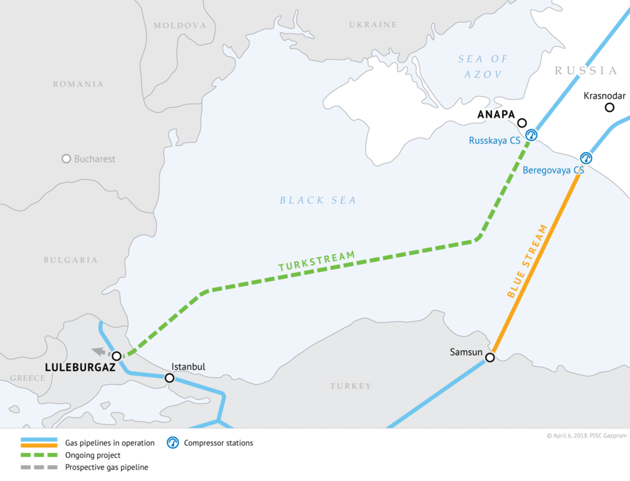 Turkey, Russia Officially Complete Construction Of Offshore Section Of Turkish Stream Gas Pipeline