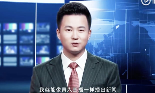 Chinese State Media Reveals Its Artificial Intelligence Anchor (Video)