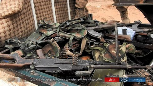 ISIS 'Super Pocket' In Hajin: ISIS Advances On Positions Of US-backed Forces (Photos)