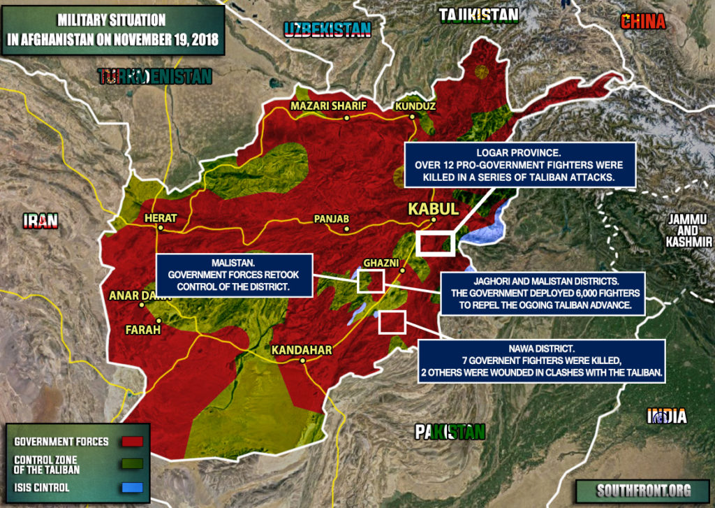 Afghan Government Created 6,000-Strong Force To Stop Taliban Advance In Ghazni Province