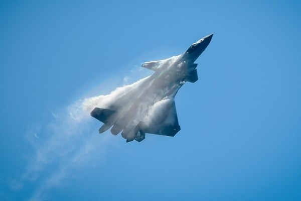 China Showcases Progress On Stealth Fighter Jet At Zhuhai Air Show