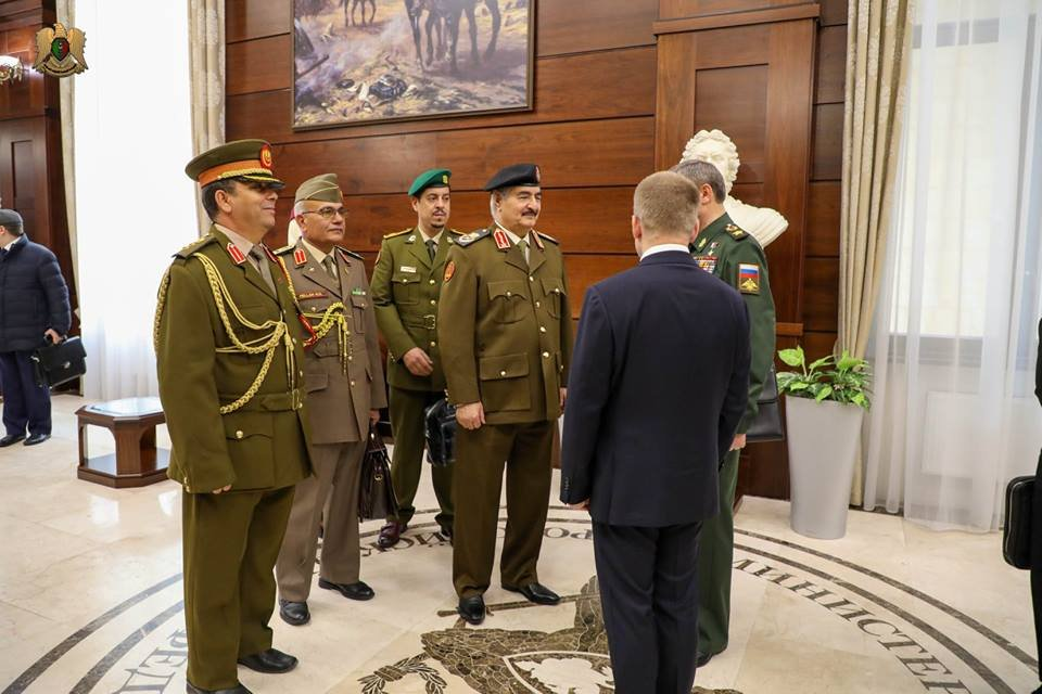 Libyan National Army Head Visits Moscow To Meet With Russian Military Leadership (Photos)