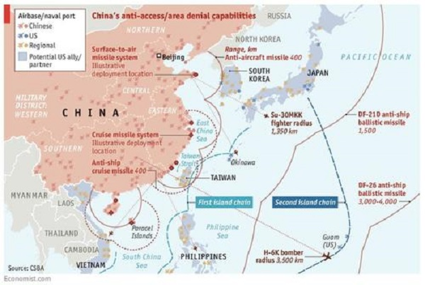 """DoD Official Urges Taiwan To Buy More Weapons In Fear Of """"Cross-Strait Invasion"""" By China"""