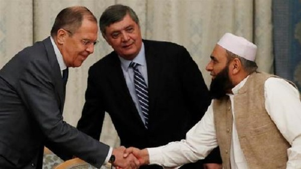 Russia Hosts Taliban And Afghan Officials For Peace Talks; U.S. Diplomat In Attendance