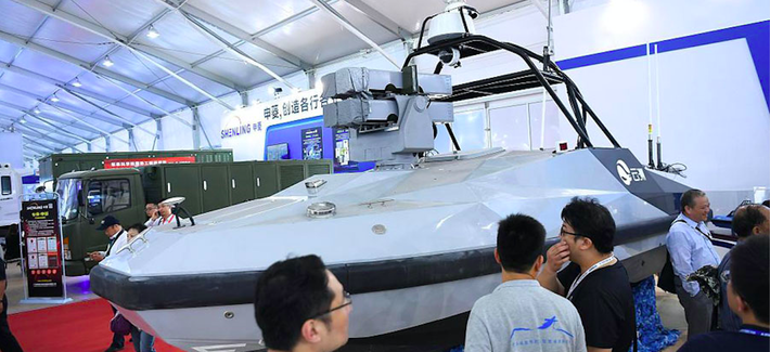 Beijing Showcases Its First Unmanned Missile Boat At 12th China International Aviation And Aerospace Exhibition