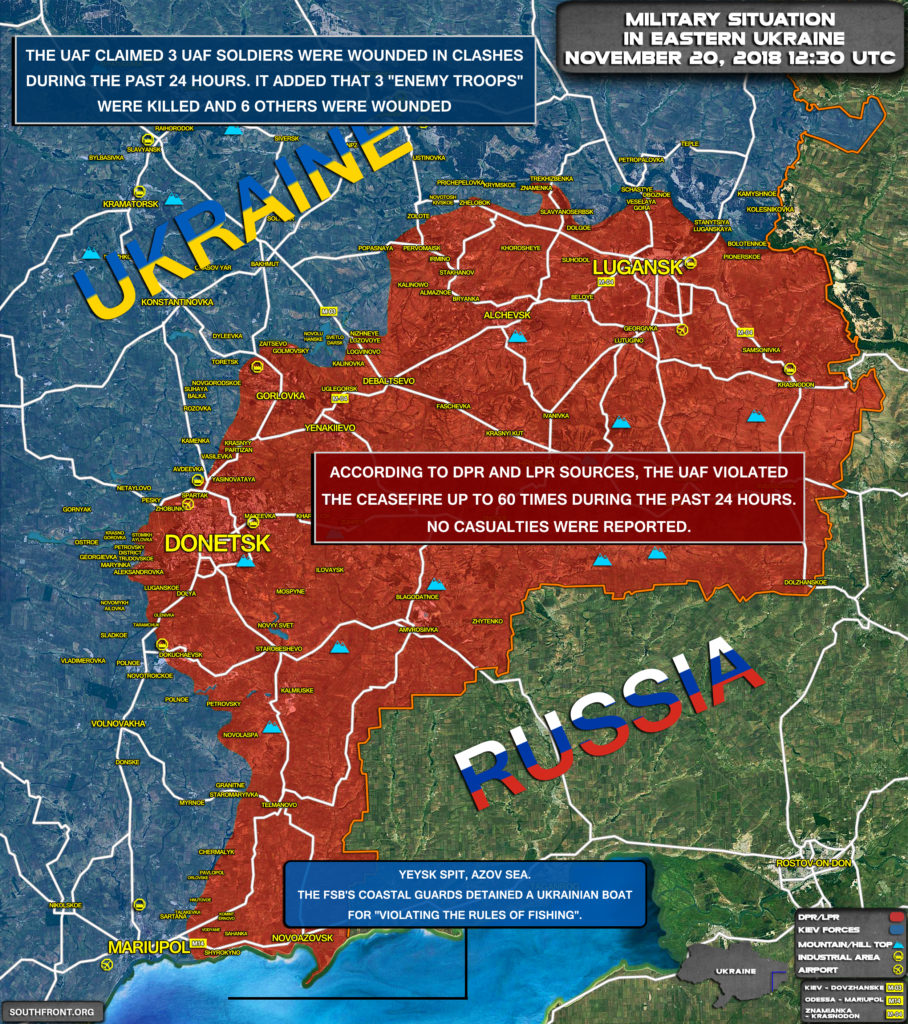 3 Ukrainian Soldiers Wounded In Recent Clashes In Region Of Donass (Map Update)
