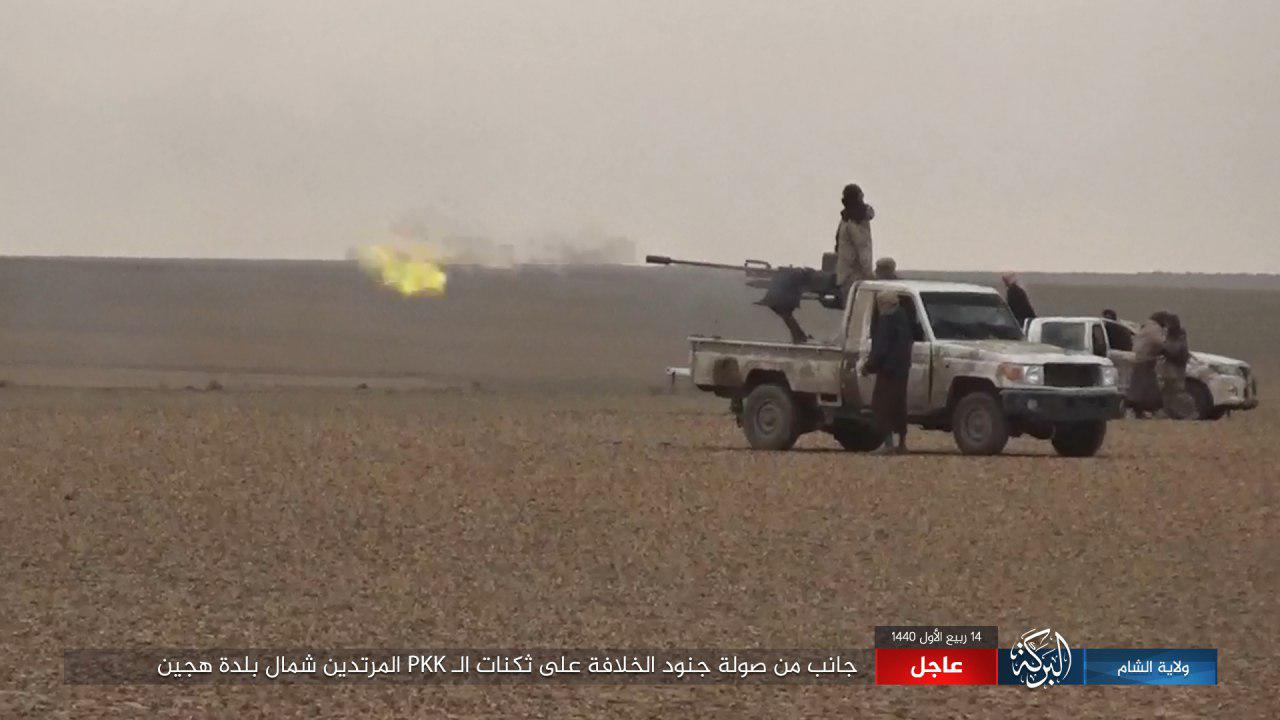 ISIS Launches Large Attack On SDF-Held Oil Field In Southeastern Deir Ezzor (Map, Photos)