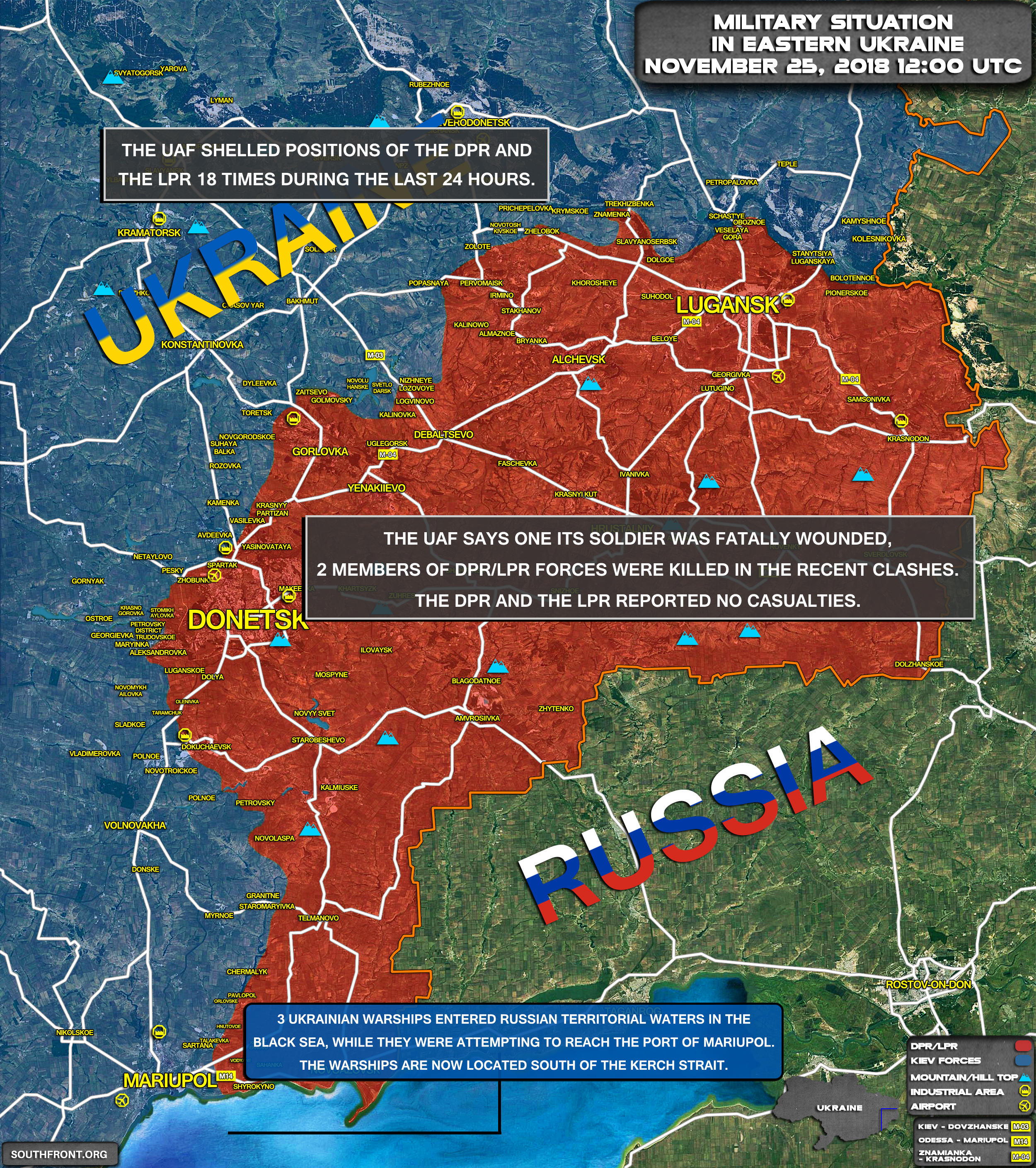 Poroshenko Regime Is Provoking Conflict With Russia In Waters Off ...