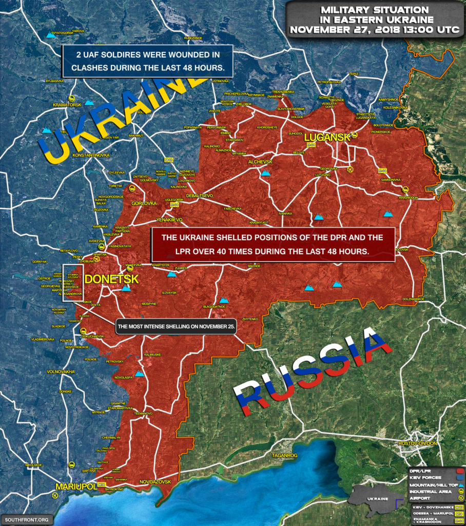 Ukraine's Martial Law Poses Risks Of Conflict Escalation In Donbass