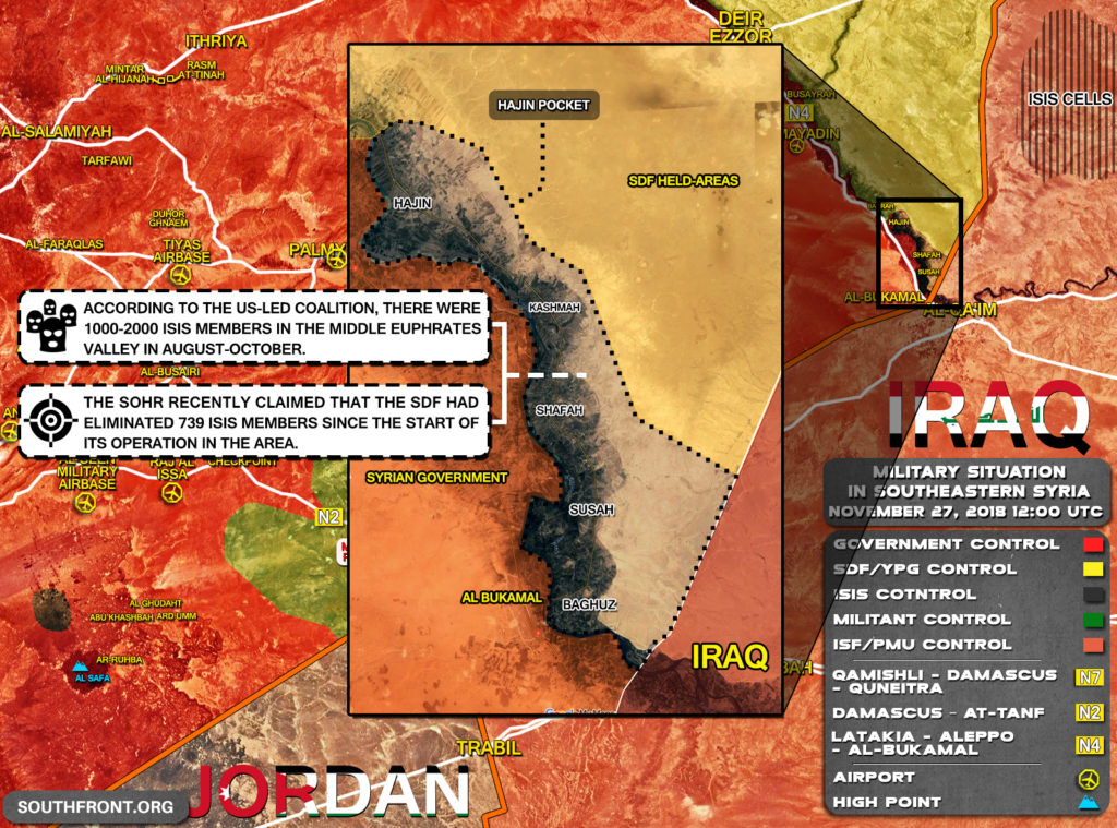 Never-Ending Battle In Hajin. 749 ISIS Members Were Reportedly Eliminated. How Many Left?