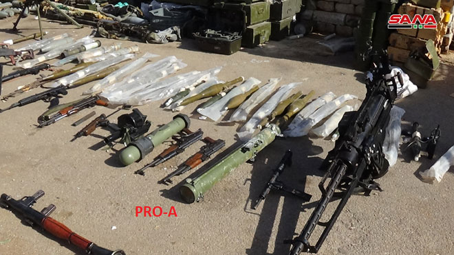 TOW Missiles And Other US-Supplied Weapons Are Seized By Syrian Army In Southern Syria (Video, Photos)