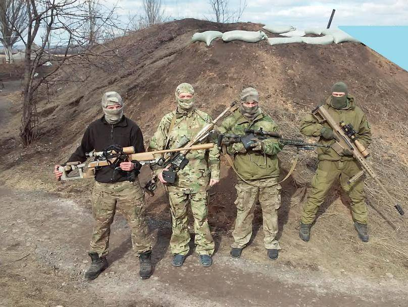 Snipers Of Donbass: Weapons, Organization, Tactics