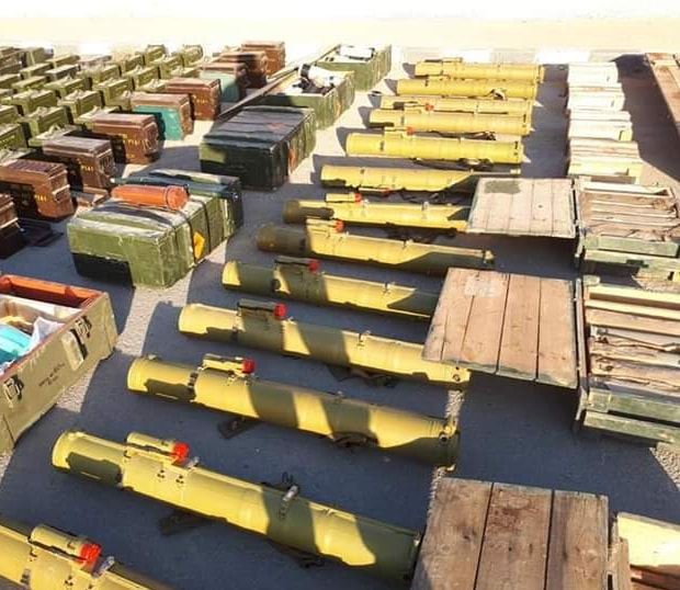 Army Seizes Anti-Tank Missiles And Loads Of Other Weapons In Southern Syria (Videos, Photos)