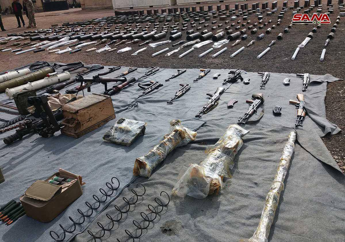 Syrian Army Seizes More US-Supplied Weapons Abandoned By Militants In Damascus And Al-Quneitra (Photos)
